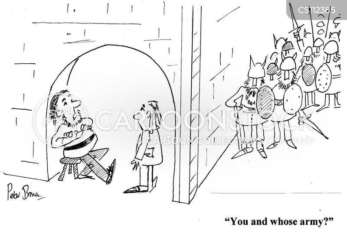 intimidation tactic cartoon