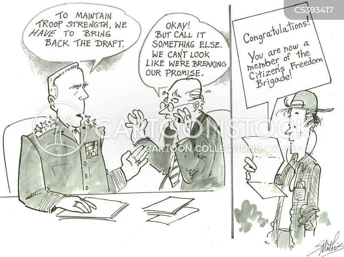 army recruitment cartoon