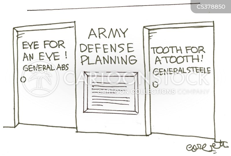 general abs cartoon