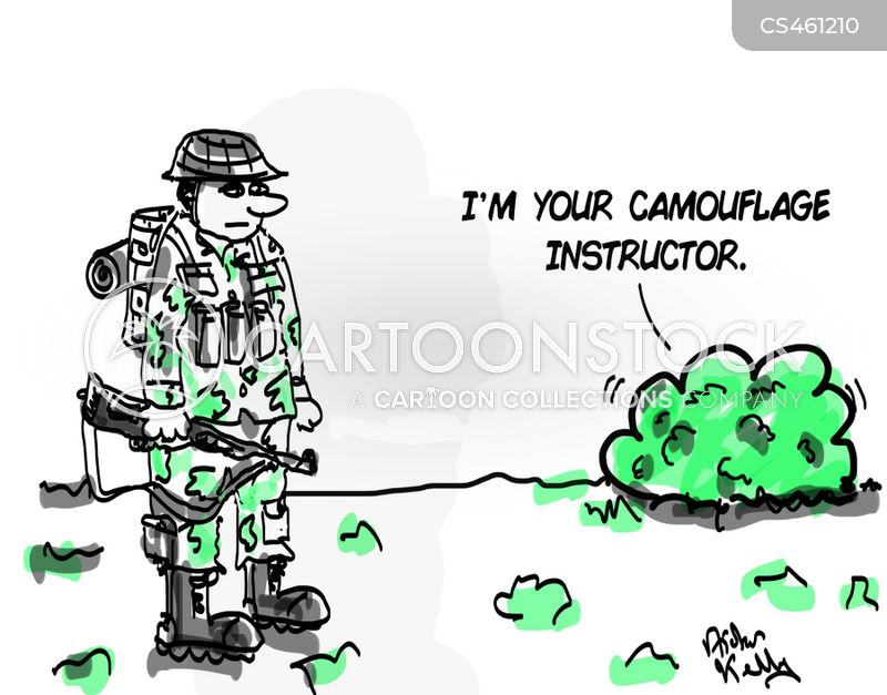 army training cartoon