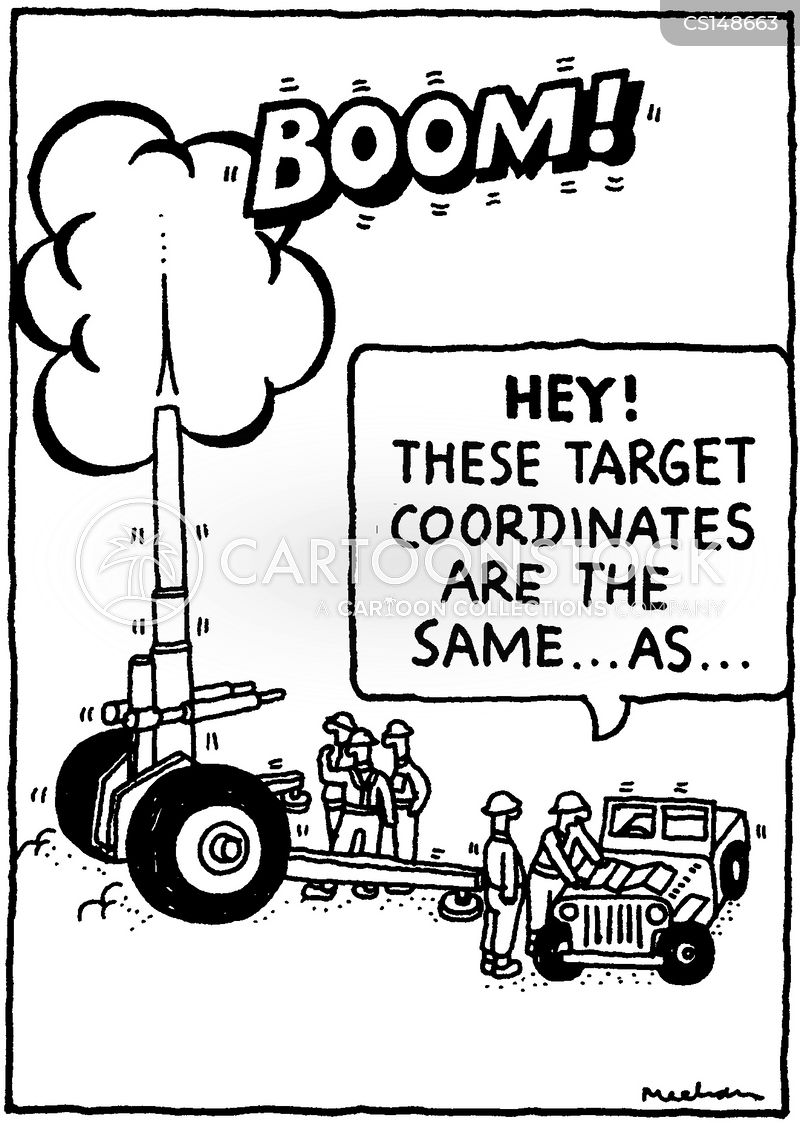 nuclear bombs cartoon