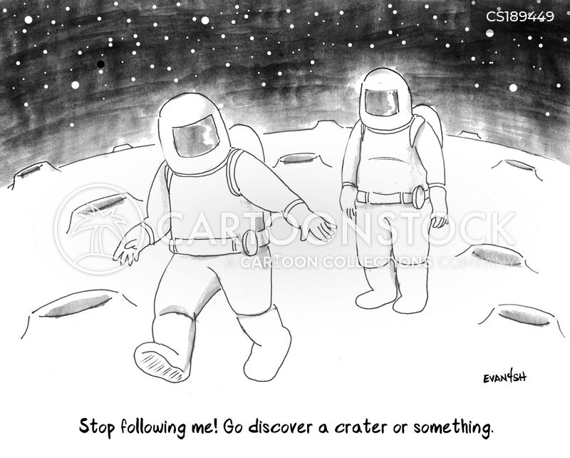 craters cartoon