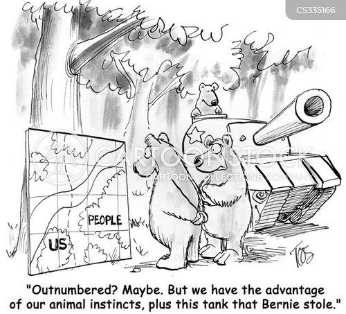 woodland cartoon