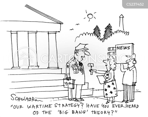 wartime strategies cartoon