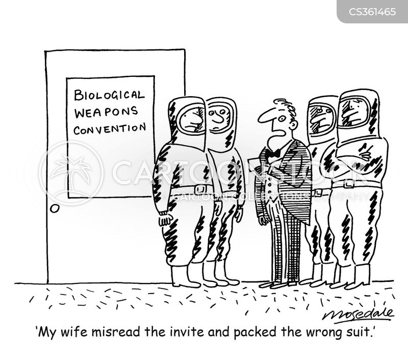biological weapon cartoon