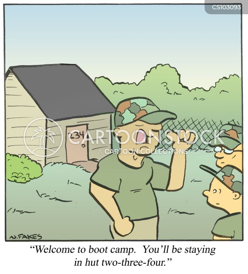 boot camps cartoon