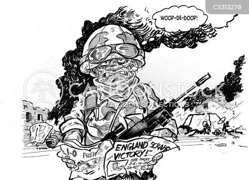 british troops cartoon