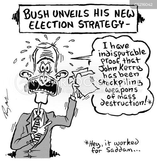 election strategy cartoon