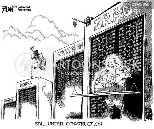 war memorial cartoon
