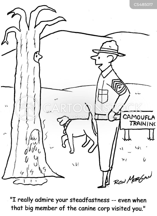 army recruits cartoon