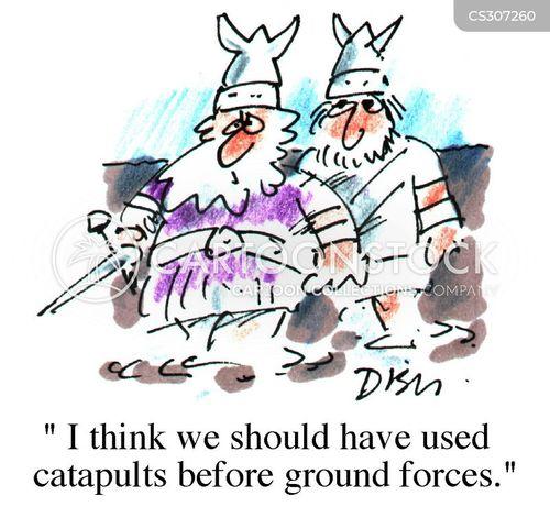 scandinavians cartoon