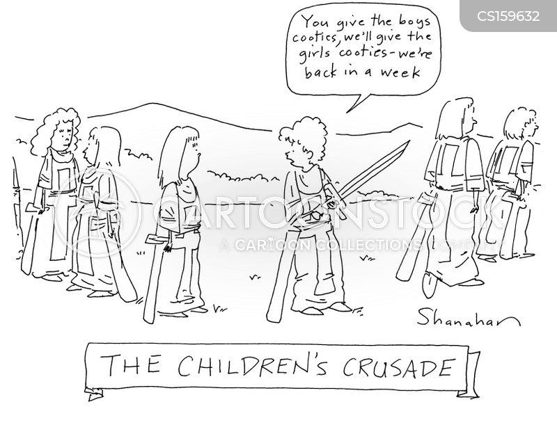crusader cartoon