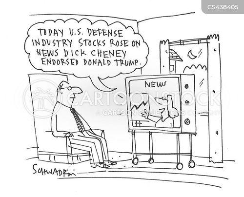 military spending cartoon