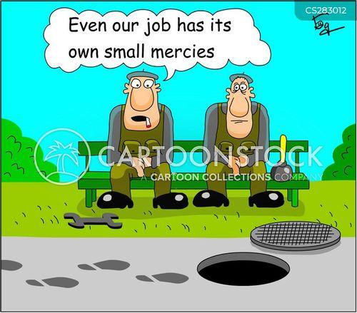 dirty job cartoon