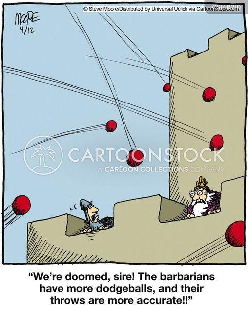dodgeballs cartoon