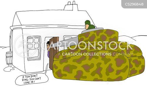 door-bells cartoon
