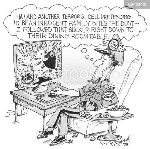 american military cartoon