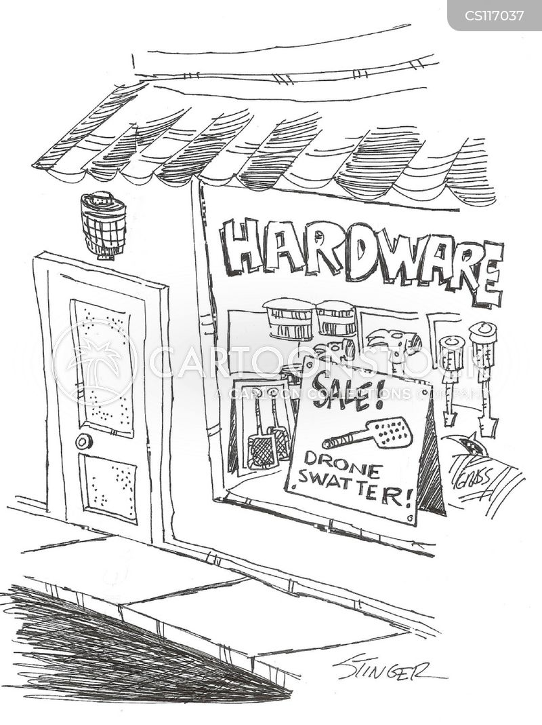 hardware stores cartoon