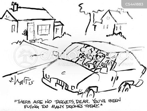 driving skill cartoon