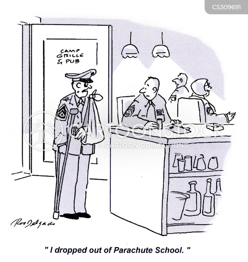 paratroopers cartoon