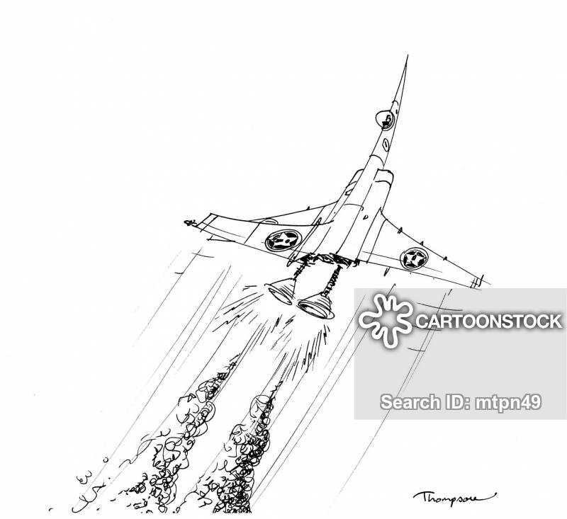 military planes cartoon