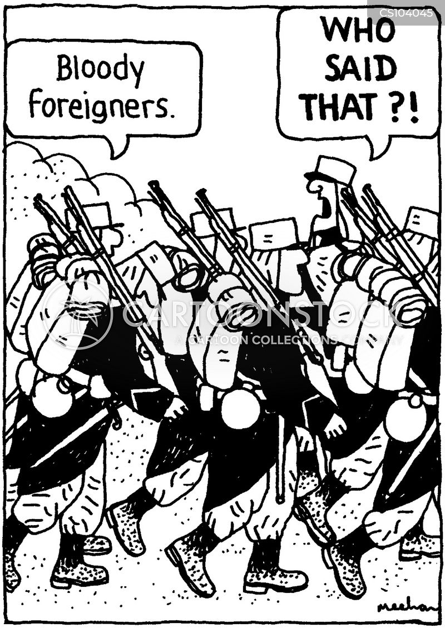 foreign legions cartoon