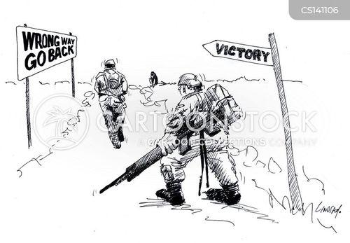 anti-war cartoon