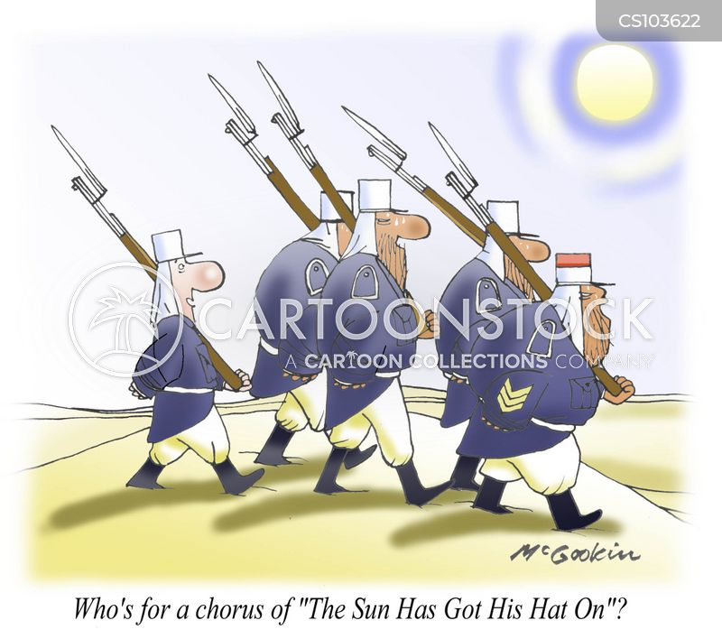 The Sun Has Got His Hat On Cartoons and Comics - funny