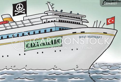 peace mission cartoon