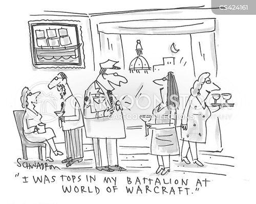 military awards cartoon