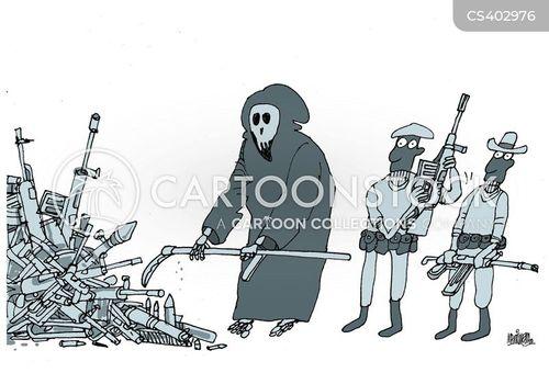disarms cartoon