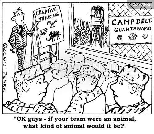 prison camps cartoon