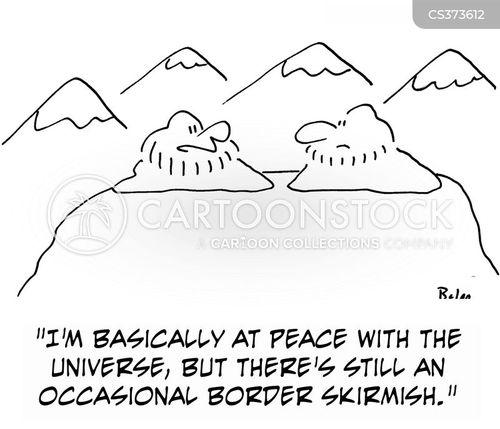 skirmish cartoon