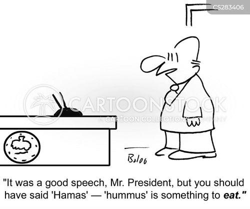 hummus cartoon