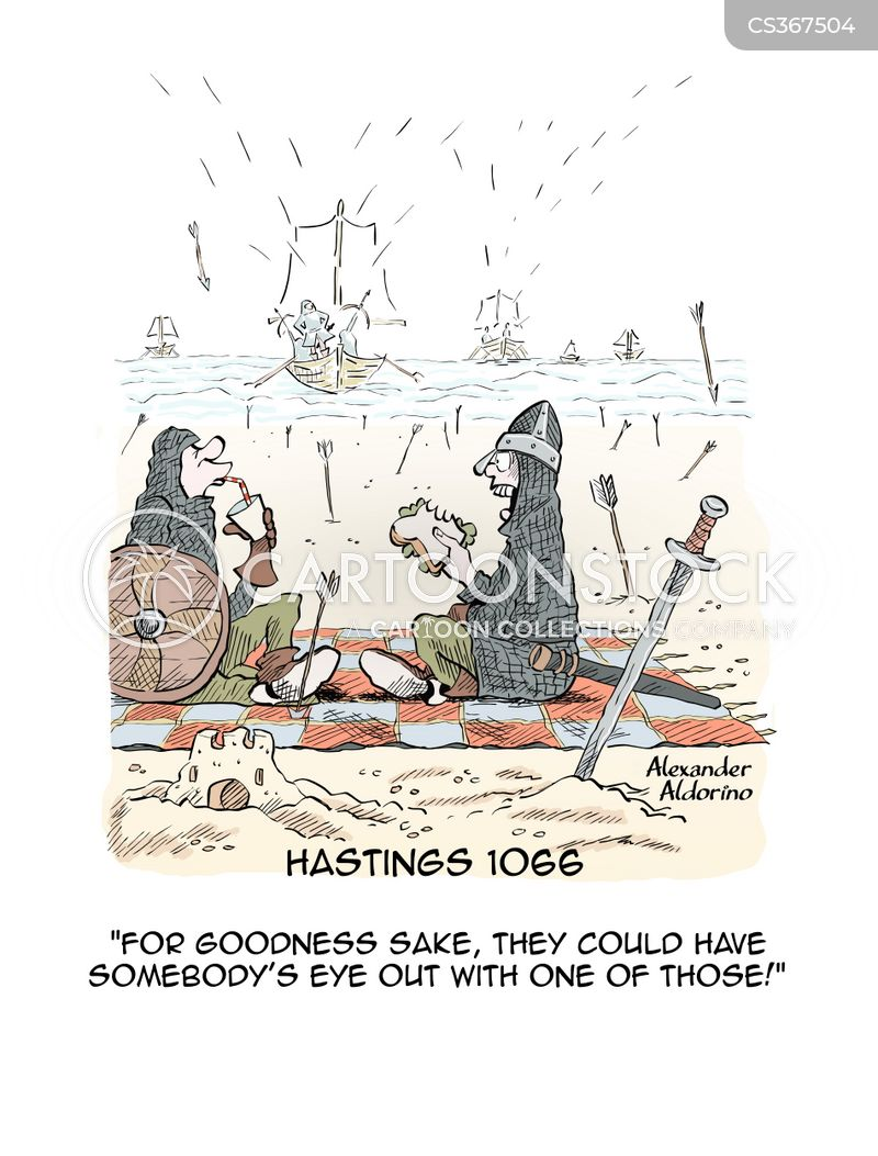 hastings 1066 cartoon