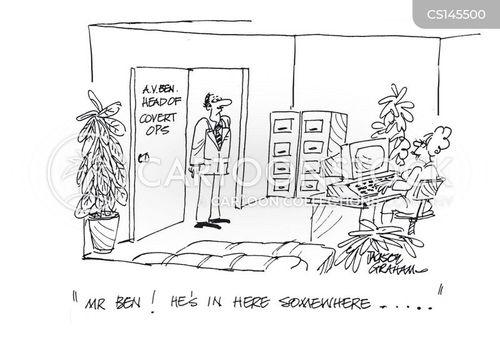 covert cartoon