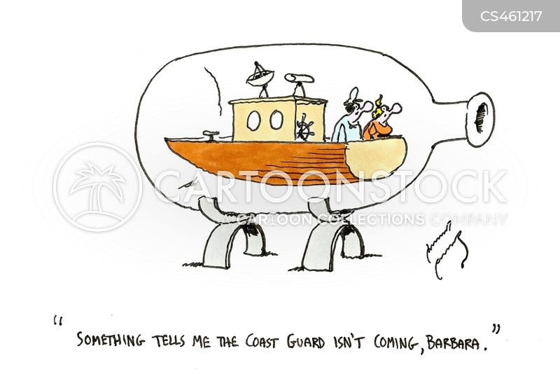 coast guard cartoon