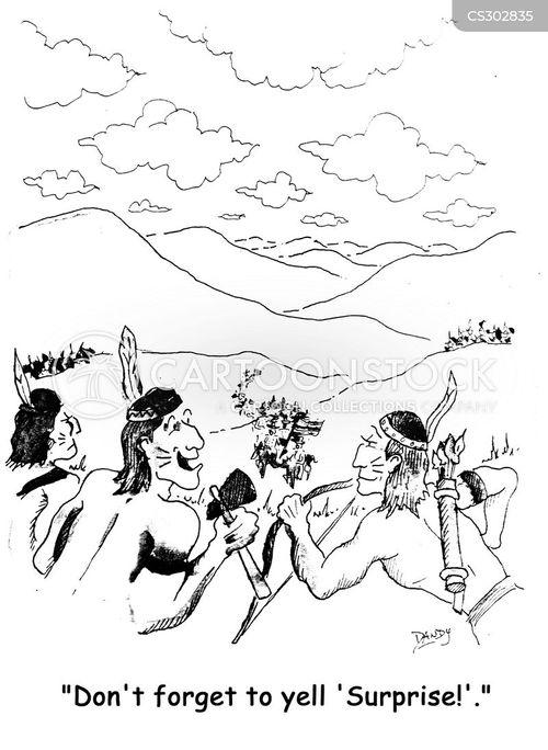 forts cartoon
