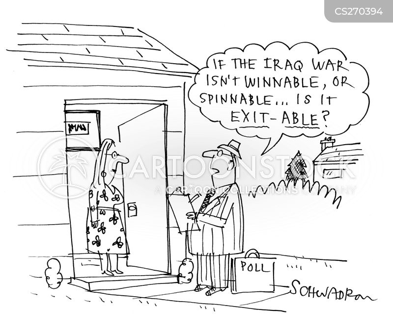 winning the war cartoon