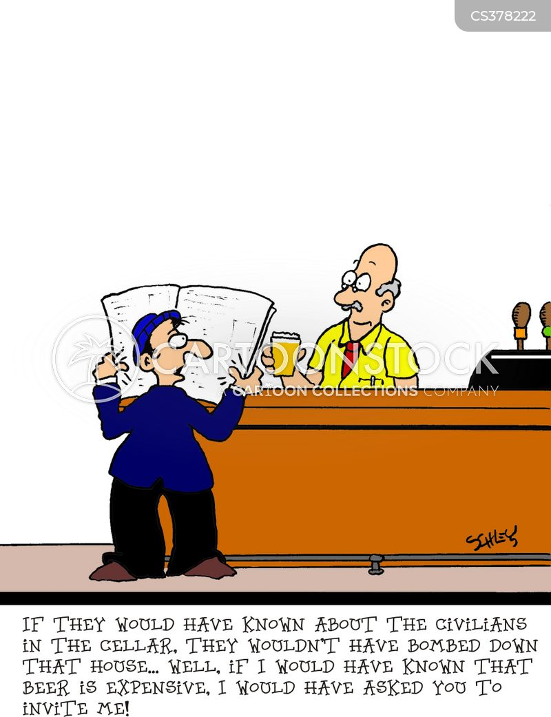 civillian cartoon