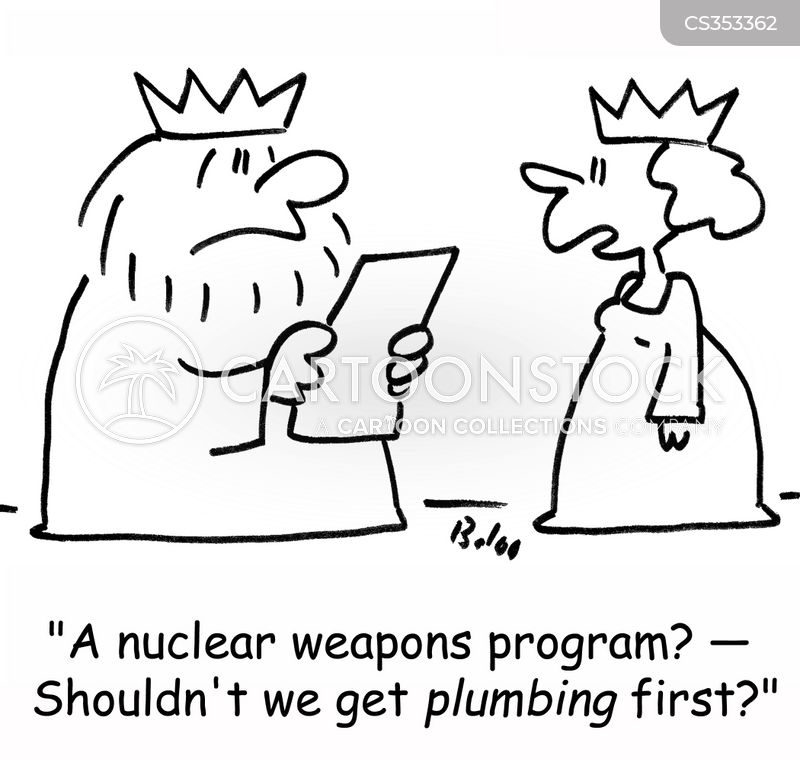 atomic weapon cartoon