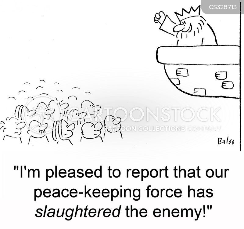 slaughtered cartoon