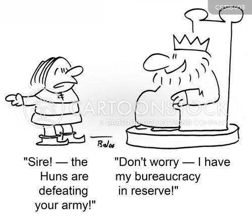 bureacrat cartoon