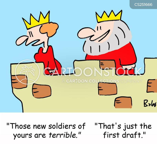 conscription cartoon
