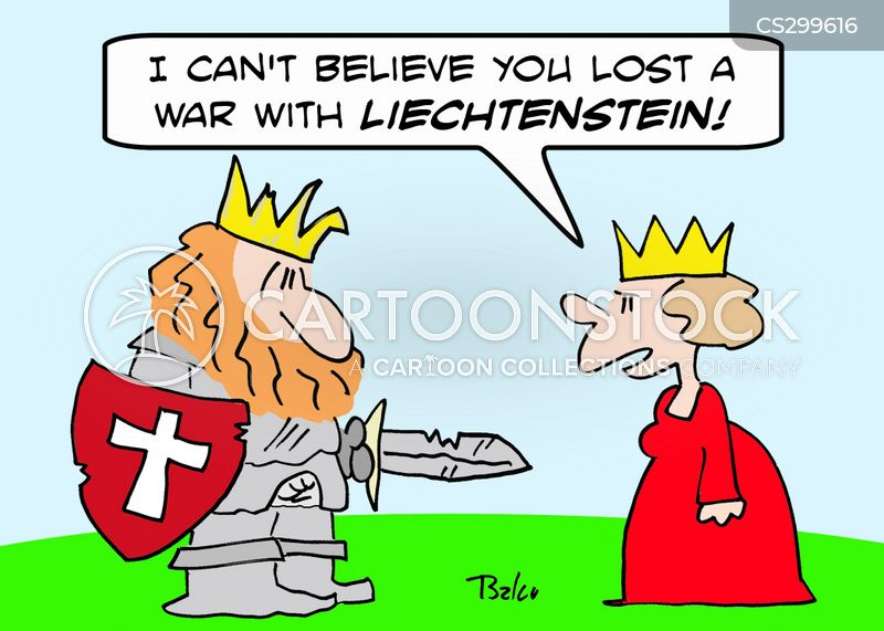 going to war cartoon