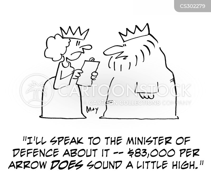 minister of defence cartoon