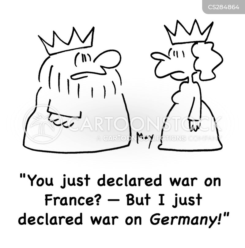 declare war cartoon