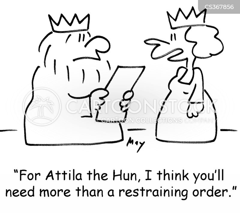 attilla the hun cartoon