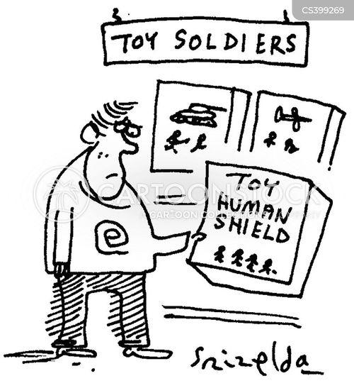 air strikes cartoon