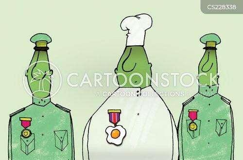 navy cook cartoon